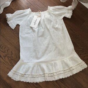 Arnhem girls melody child white dress size 5